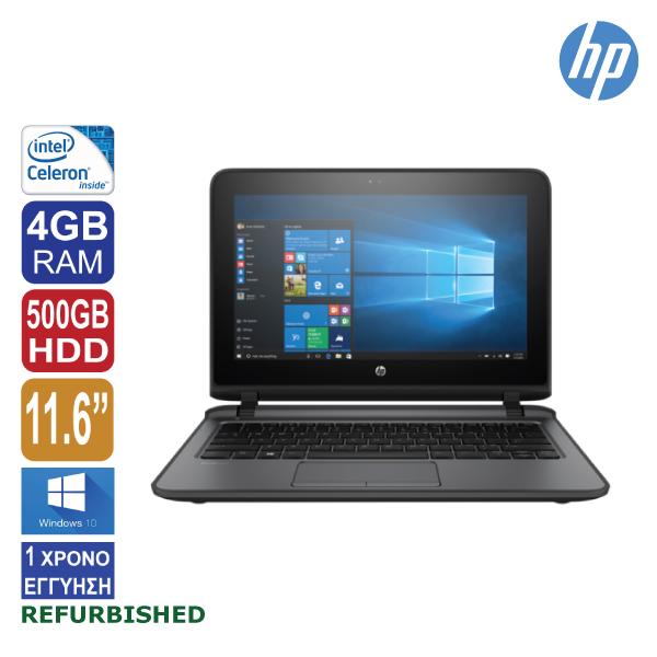 "Laptop 11.6"" HP ProBook 11 EE G2, Intel Celeron 3855U, 4GB RAM, 500GB HDD, Web Camera, Windows 10"