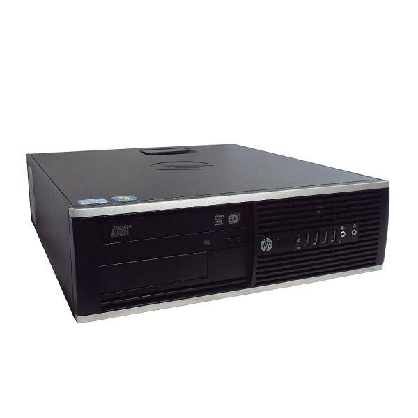 Desktop HP COMPAQ 8200 Elite SFF, Intel Core i7 2600 (2ης γενιάς), 4GB RAM, 120GB SSD (καινούργιος), 500GB HDD, Windows 10 Pro