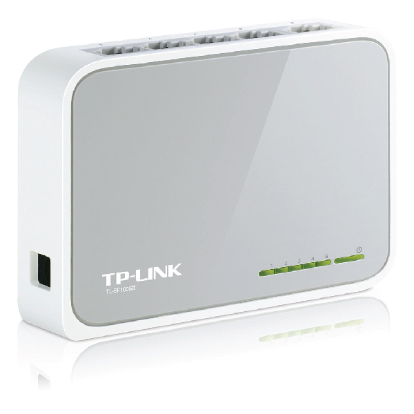 Switch 5 Port TP-Link SF1005D 10/100 Mbit/s