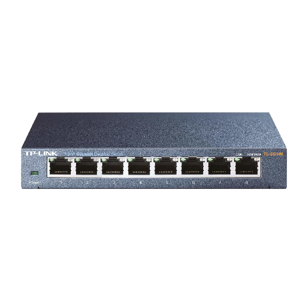 Switch 8 Port TP-Link SG108 10/100/1000 Mbit/s