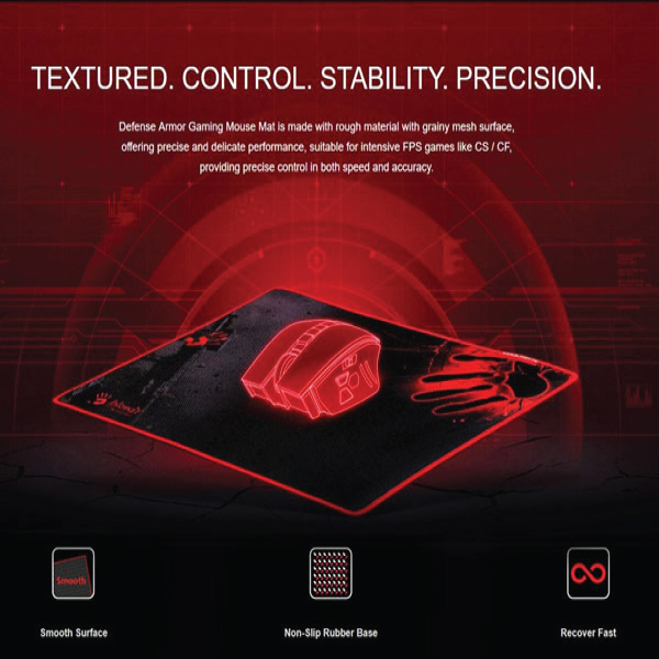 Bloody Gaming Mouse pad BLD-B-081S, X-thin, 35x28x0.2cm