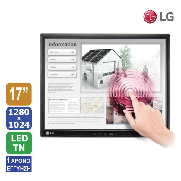 """Οθόνη αφής 17"""" LG 17MB15T LED 1280x1024"""