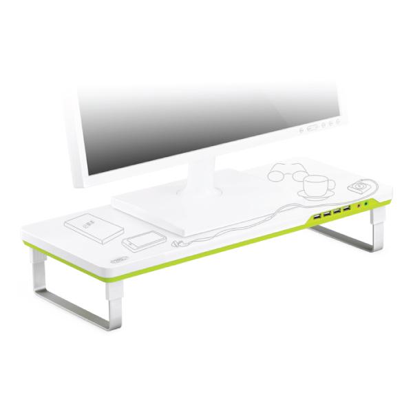 Βάση για Laptop και Οθόνη DeepCool M-DESK-F1, 27″, 4 USB HUB