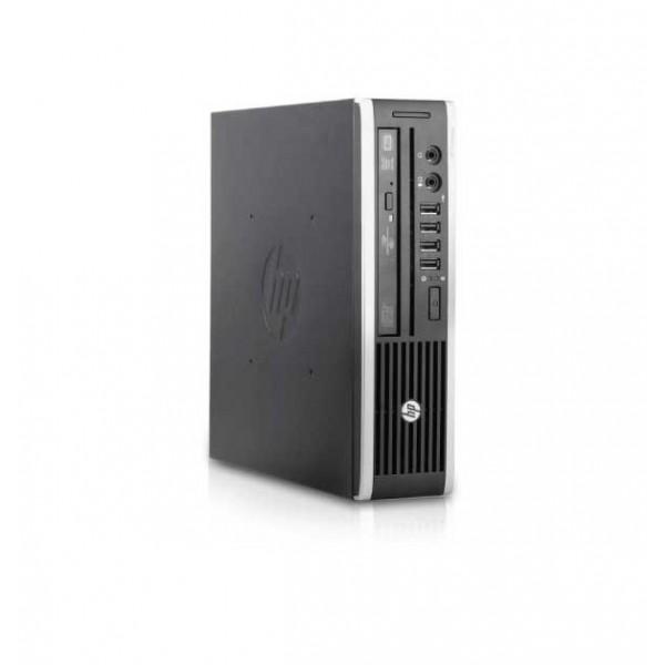 Desktop HP COMPAQ 8200 Elite USDT, Intel Core i5 2400 (2ης γενιάς), 4GB RAM, 120GB SSD, Windows 10