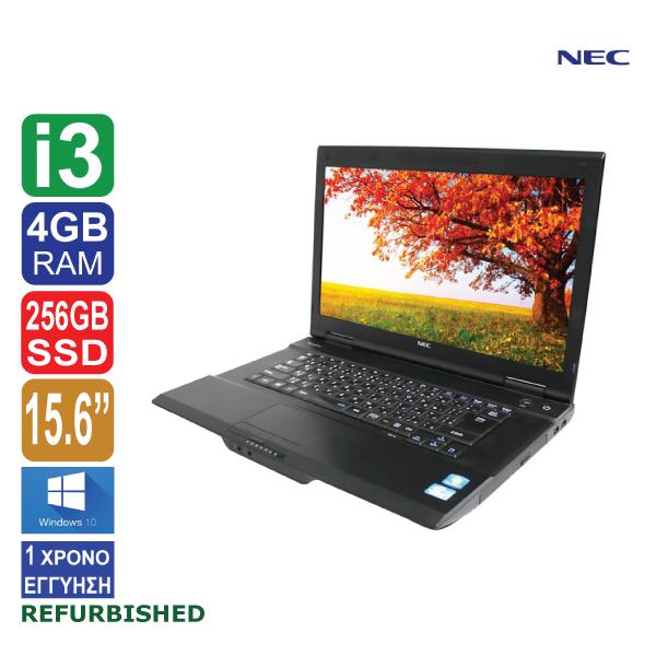 Laptop 15.6″, NEC VersaPro VA-J, Intel Core i3 4100M (4ης γενιάς), 4GB RAM, 256GB SSD, DVD, Windows 10 Pro, ΑΠΟΣΠΩΜΕΝΗ WEBCAMERA FHD, VIA USB WIFI  (ΕΚΘΕΣΙΑΚΟ ΠΡΟΙΟΝ made in Japan)