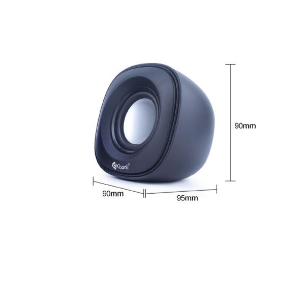 Ηχεία Kisoli V350, 2.0ch, USB, 3.5mm