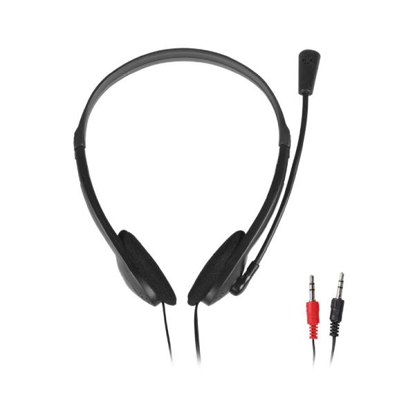 Ακουστικά  NOD Headset Prime, 2x 3.5mm, 27mm, 105 dB, μαύρα